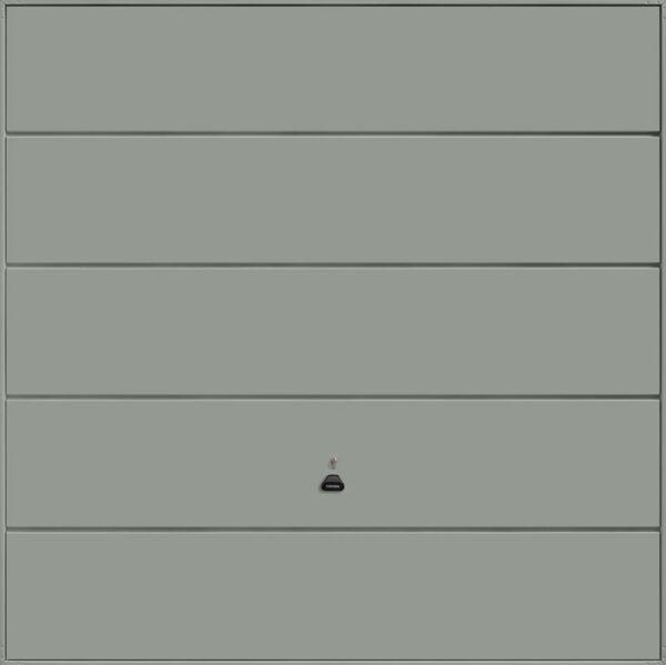 Garador Ascot Canopy Garage Door in Stone Grey