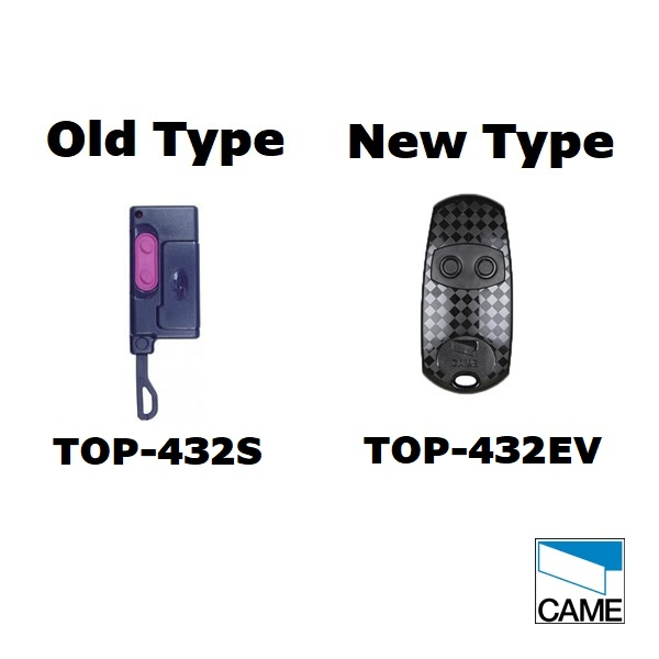 Came TOP-432S Remote Control