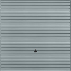 Garador Horizon Canopy Garage Door in Window Grey