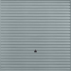 Garador Horizon Canopy Garage Door in Window Grey