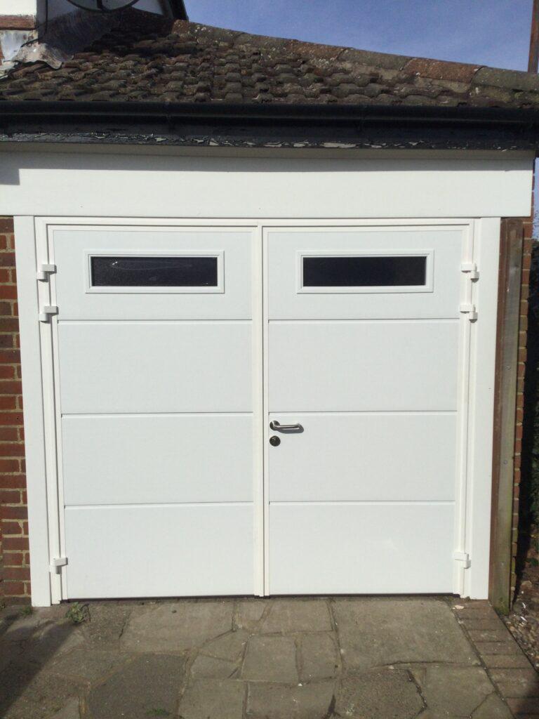 Ryterna Insulated Side Hinged Garage Doors