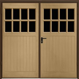 Garador Dorchester GRP Side Hinged Garage Door