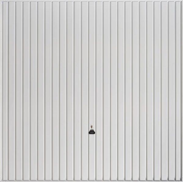 Garador Carlton Retractable Garage Door in White