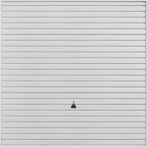 Garador Retractable Horizon Garage Door in White