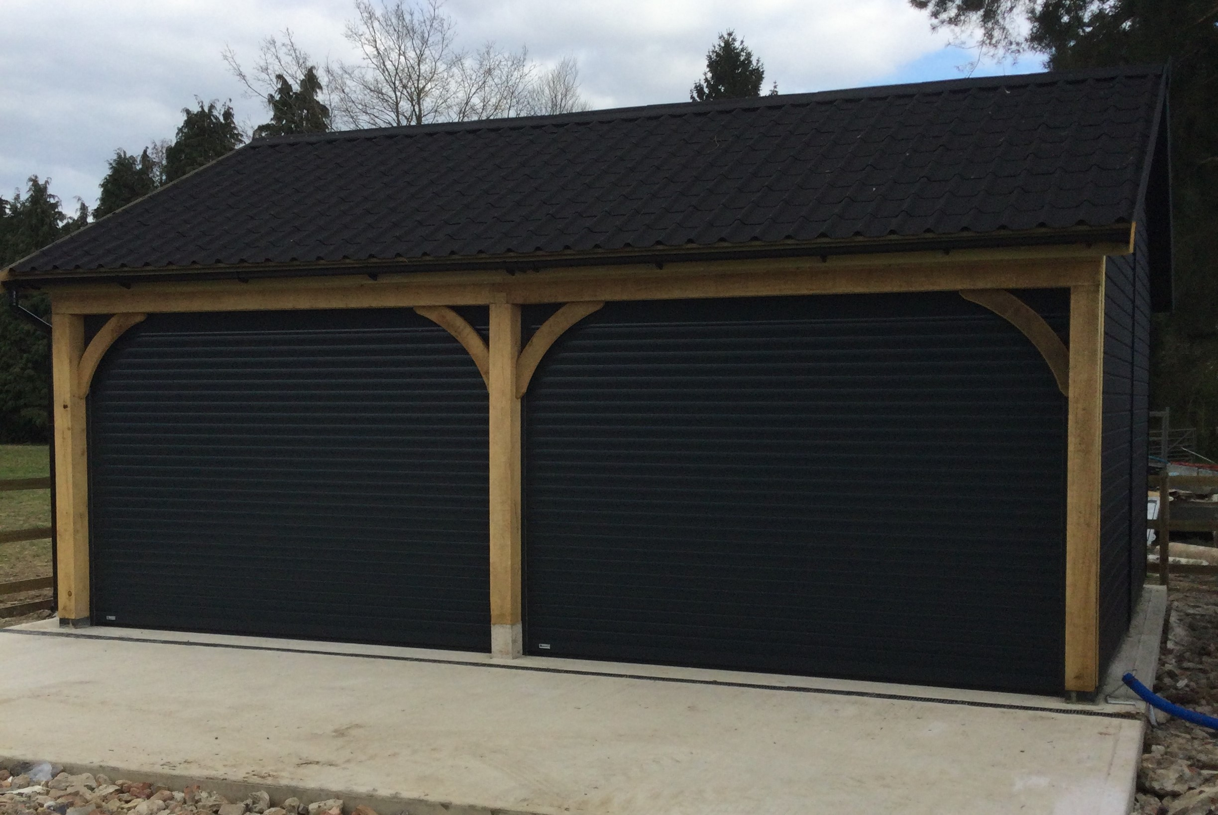 Graphite Grey Seceuroglide Roller Garage Doors
