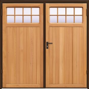 Garador Ashton Timber Side Hinged Garage Door
