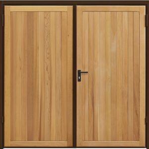 Garador Kingsbury Timber Side Hinged Garage Door