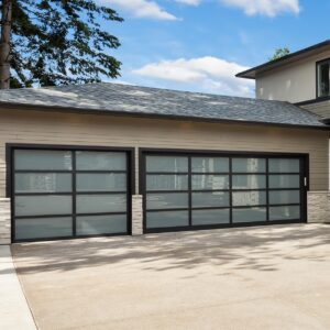 Alutech Panoramic Sectional Garage Door