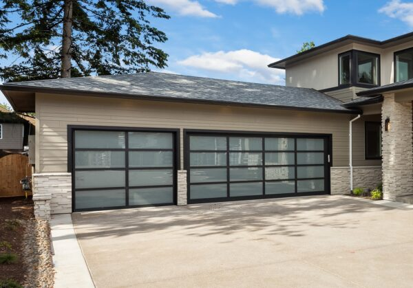 Alutech Panoramic Sectional Garage Door