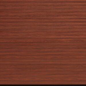 Garador Rosewood Decopaint Roller Door