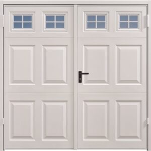 Garador Beaumont Windows Steel Side Hinged Garage Door
