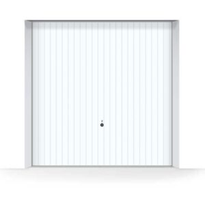 white-hormann-vertical-garage-door