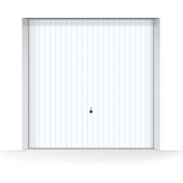 white-hormann-vertical-garage-door