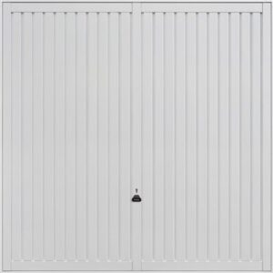 Garador Sutton Retractable Garage Door in White