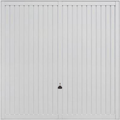 Garador Sutton Retractable Garage Door in White