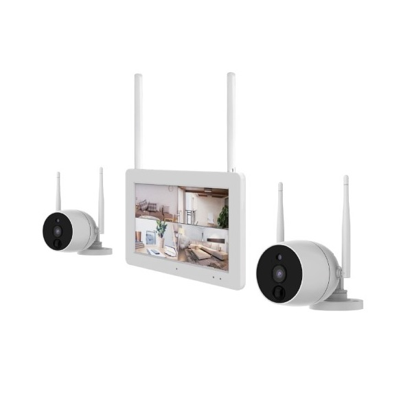 "LCD-KIT2MP Wireless Wi-Fi CCTV Camera Kit With 7"" Monitor"